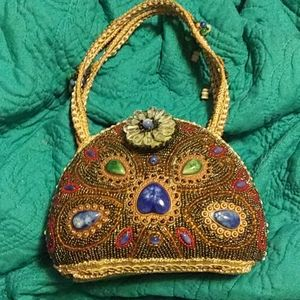 🌛Jewel encrusted handbag